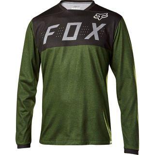 Fox Indicator LS Jersey, heather dark fatigue - Radtrikot