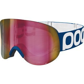 POC Lid, lead blue/Lens: persimmon red mirror - Skibrille