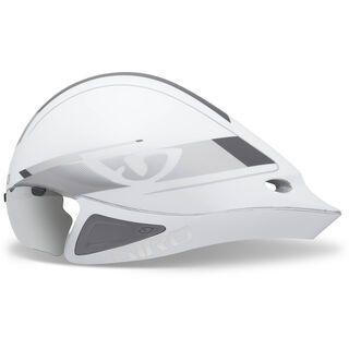 Giro Selector, white silver - Fahrradhelm