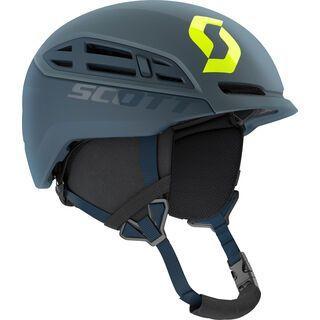 ***2. Wahl*** Scott Couloir Mountain Helmet, storm grey/ultralime yellow - Skihelm