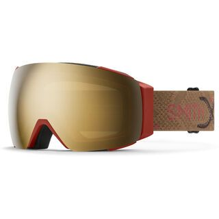 Smith I/O Mag inkl. WS, AC   Angel Collision/Lens: cp sun black gold mir - Skibrille