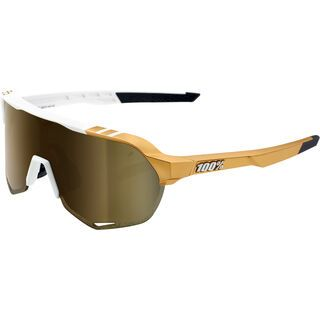 100% S2 Peter Sagan LTD – Gold Mirror weiß/gold