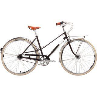 Creme Cycles Caferacer Lady Doppio 2015, dark brown - Cityrad