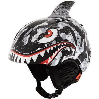Giro Launch Plus, black/grey tiger shark - Skihelm