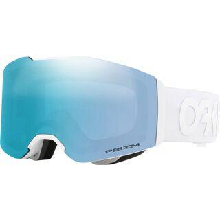 Oakley Fall Line Factory Pilot Whiteout, Lens: prizm sapphire iridium - Skibrille