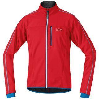 Gore Bike Wear Countdown 2.0 Windstopper Soft Shell Jacke, red/splash blue - Radjacke