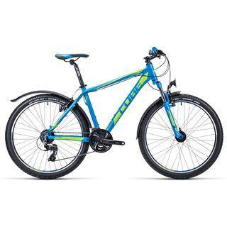 Cube Aim Allroad 26 2015, blue/lime - Mountainbike