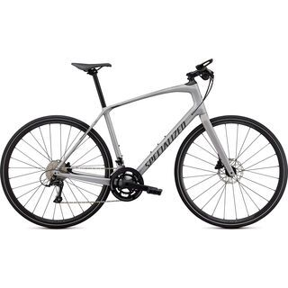 Specialized Sirrus 4.0 2021, silver/charcoal/black reflective - Fitnessbike