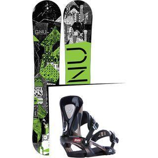 Set: Gnu Carbon Credit 2017 + Ride KX (1178188S)