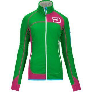Ortovox Fleece Plus Merino Jacket, absolute green - Fleecejacke