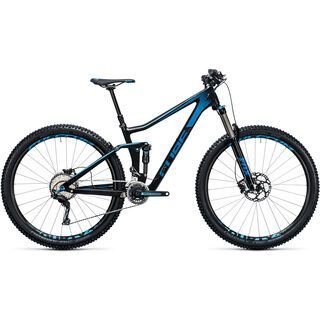 Cube Stereo 140 C:62 Race 29 2017, carbon´n´blue - Mountainbike