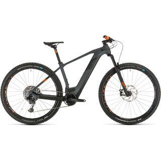 *** 2. Wahl *** Cube Elite Hybrid C:62 Race 29 2020, grey´n´orange - E-Bike   Größe 21 Zoll
