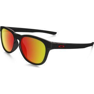 Oakley Stringer, matte black/Lens: ruby iridium - Sonnenbrille