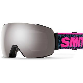 Smith I/O Mag inkl. WS, pink '93/Lens: cp sun platinum mirror - Skibrille