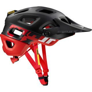 Mavic Crossmax Pro, black/red - Fahrradhelm