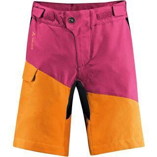Vaude Kids Grody Shorts, azalee/sunset - Radhose