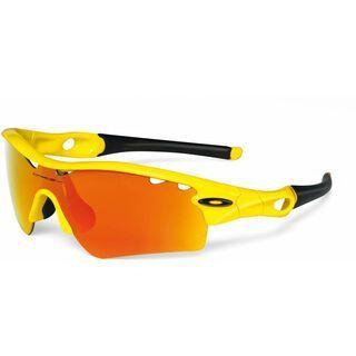 Oakley Radar Path, Lemon Peel/Fire Iridium Vented - Sportbrille