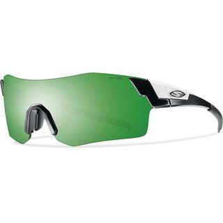 Smith Pivlock Arena, shiny black/green mirror - Sportbrille