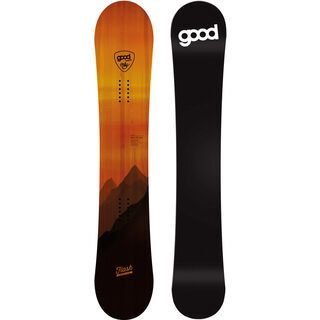 goodboards Flash Nose Rocker 160 cm 2017, orange - Snowboard