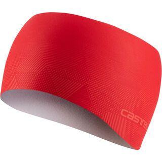 Castelli Pro Thermal Headband, red - Stirnband