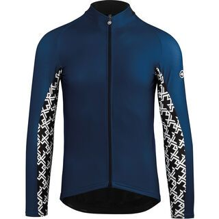 Assos Mille GT Spring Fall LS Jersey, caleum blue - Radtrikot