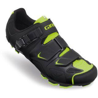 Giro Gauge, black/highlight yellow - MTB Schuhe