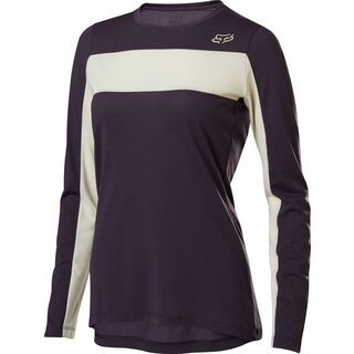 Fox Womens Ranger Drirelease LS Jersey, dark purple - Radtrikot