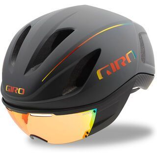 Giro Vanquish MIPS, mat grey fire chrom - Fahrradhelm