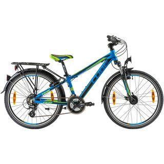 Cube Kid 240 Cross 2014, blue/black/green - Kinderfahrrad