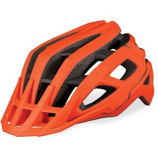 *** 2. Wahl *** Endura SingleTrack Helm, orange - Fahrradhelm | Größe M-L
