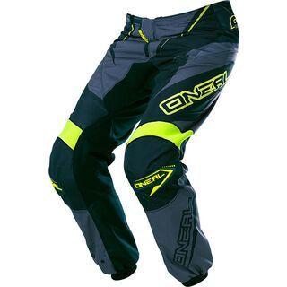ONeal Element Pants Racewear, black/gray/hi-viz - Radhose