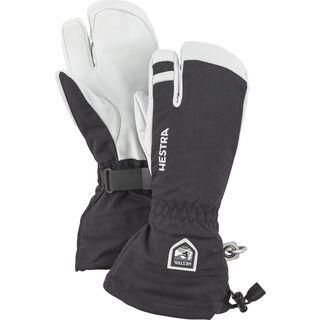Hestra Army Leather Heli Ski 3 Finger black