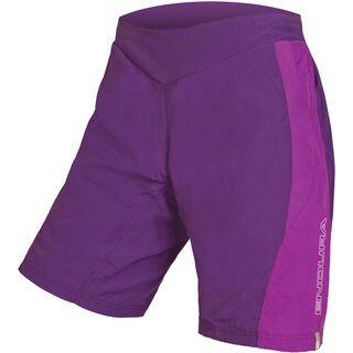 Endura Wms Pulse Shorts, lila - Radhose