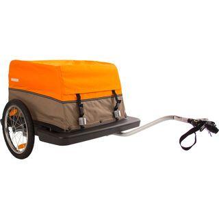 *** 2. Wahl *** Croozer Cargo, graubraun/orange - Fahrradanhänger |