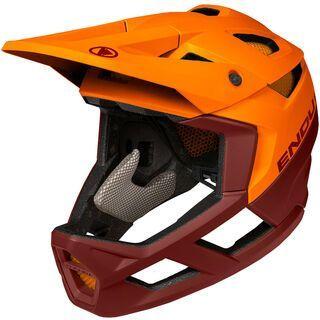 Endura MT500 Full Face Helmet tangerine
