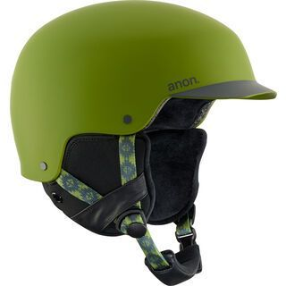Anon Blitz, forest green - Snowboardhelm
