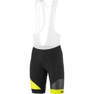 Scott RC Premium ++++ Bibshorts, black/sulphur yellow - Radhose