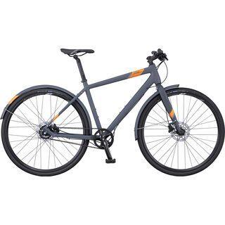 Scott Sub Speed 10 2016, dark grey/orange - Urbanbike
