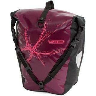 Ortlieb Back-Roller Classic Design, Splash / aubergine-pink - Fahrradtasche