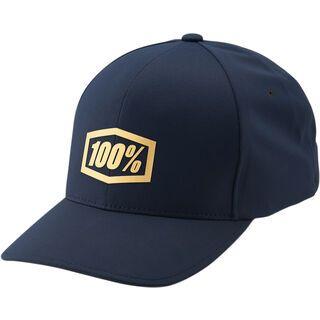 100% Generation X-Fit FlexFit Hat, navy - Cap