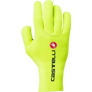 Castelli Diluvio C Glove, yellow fluo - Fahrradhandschuhe