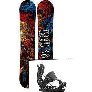 Set: Lib Tech From Hell Skate Banana 2017 + Flow NX2 Hybrid (1513124S)