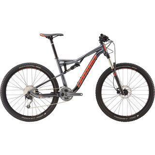 Cannondale Habit 6 2016, grey/red - Mountainbike