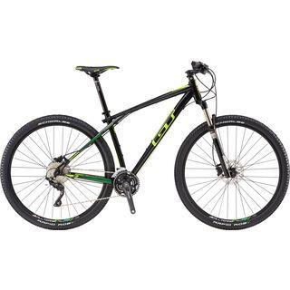 GT Karakoram Expert 29 2016, black/lime - Mountainbike