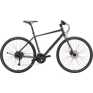 Kona Dew Plus 2017, gray/black - Fitnessbike