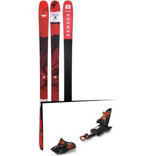 Set: Armada Tracer 88 2019 + Marker Kingpin 13 black/copper