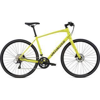 Specialized Sirrus Sport 2018, limon/black - Fitnessbike