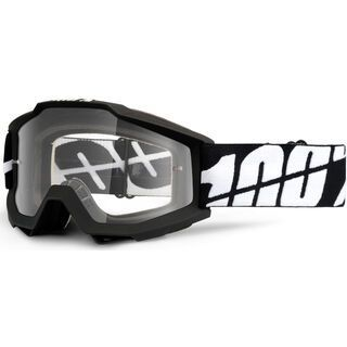 100% Accuri, black tornado/Lens: clear - MX Brille