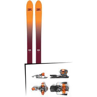 Set: DPS Skis Wailer F99 Foundation 2018 + G3 Ion 10
