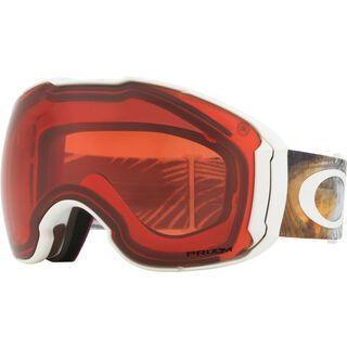 Oakley Airbrake XL Prizm inkl. Wechselscheibe, matte white/Lens: prizm rose - Skibrille